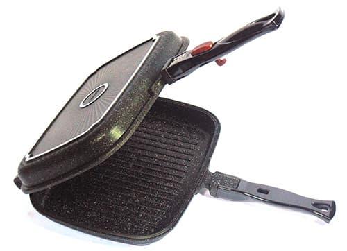Marble coated Double pan (Twin pan) (KOPAN series)