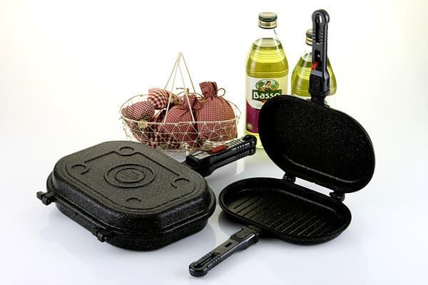 CODI Marble coated double pan (Twin pan) - Big size
