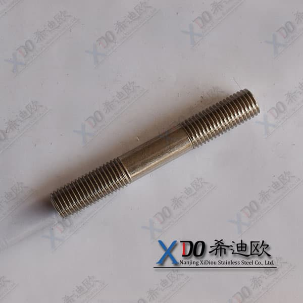 hastelloy 2.4819 stud bolts double head bolt