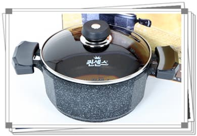 Deluxe Marble coated sauce pot