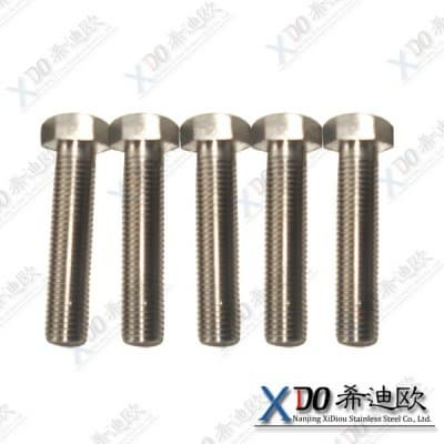 Hastelloy 2.4819 hex tap bolt hexagonal screw