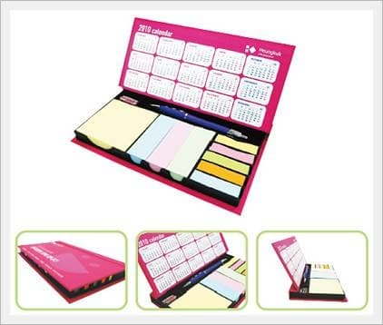 Color IT Memo Paper -Calendar-typed <strong>Gift</strong> <strong>Set</strong>