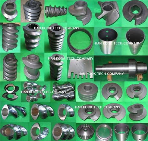 Spare parts of Feed Extruder & Expander(AMANDUSKAHL)