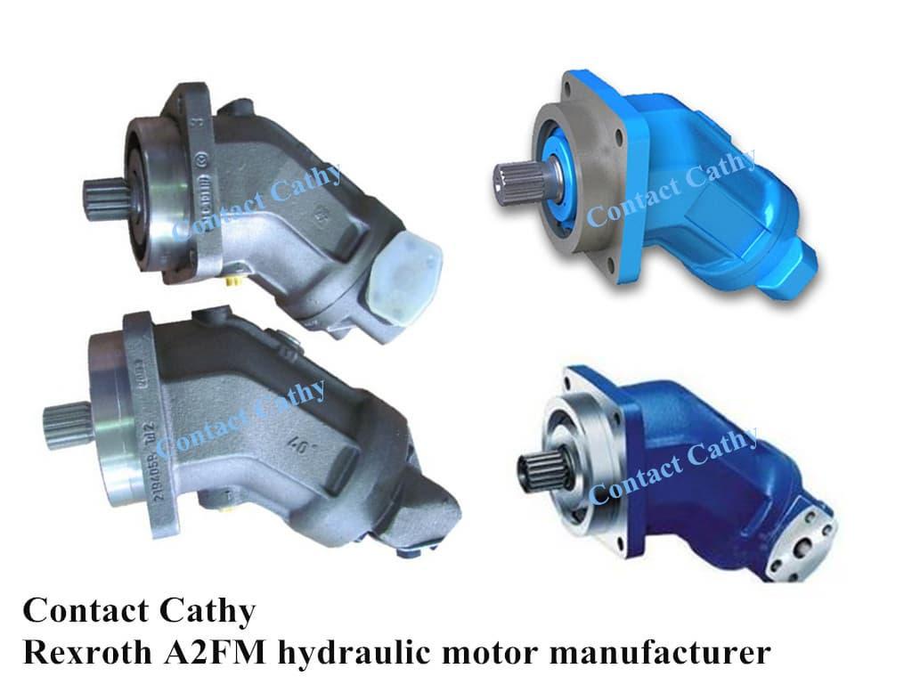 Rexroth Hydraulic Motor A2fm180 From Pioneer Hydraulic