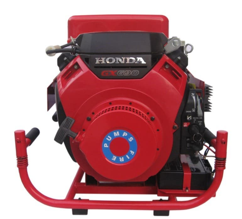 Mobile honda engine driven fire pump from silver fire for Motor oil fire starter