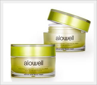 Alowell Refined Aloe Facial Cream