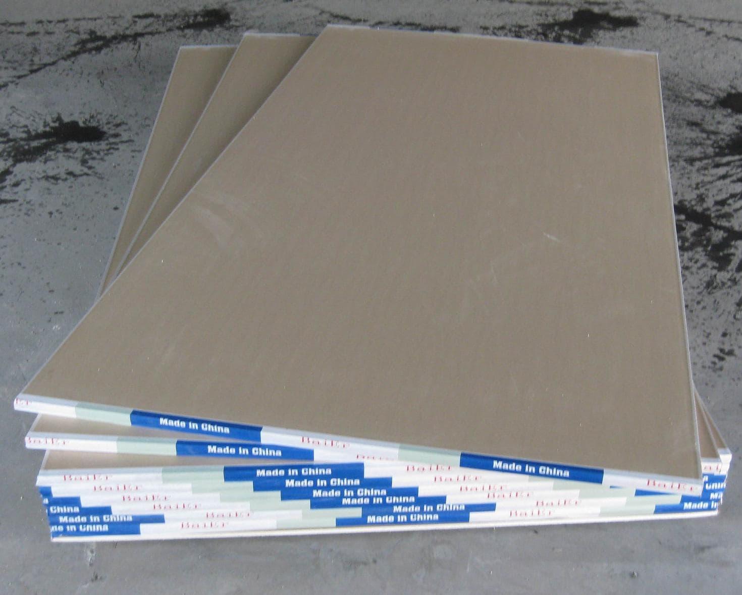 Standard gypsum board from shandong baier building