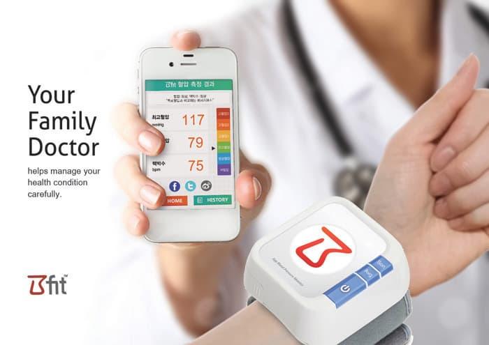 Bfit App Blood Pressure Monitor