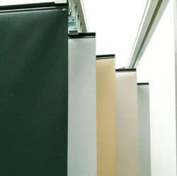 Roller Blinds for automotive panorama sunroof
