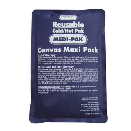 Reusable hot and cold pack, ice pack,  cool pad