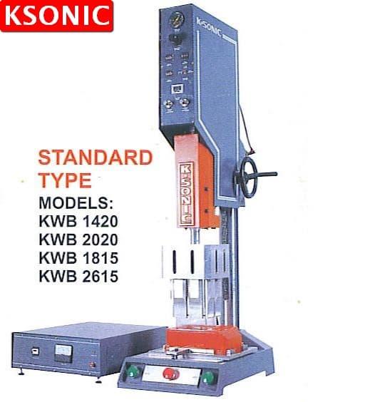 Ultrasonic Welding Machine : Ultrasonic plastic welder standard from ksonic sdn bhd