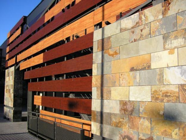 Composite House Construction : Modern building aluminum composite panel curtain wall