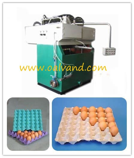 Paper egg tray making machine from oalvand industrial co for How to make paper egg trays