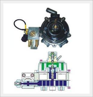 BF-1000 NGV[CNG] Reducer[E8 110R-004698]