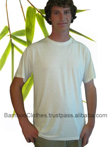 Bamboo hemp t shirt from bamboo textile b2b marketplace for Bamboo fiber t shirt