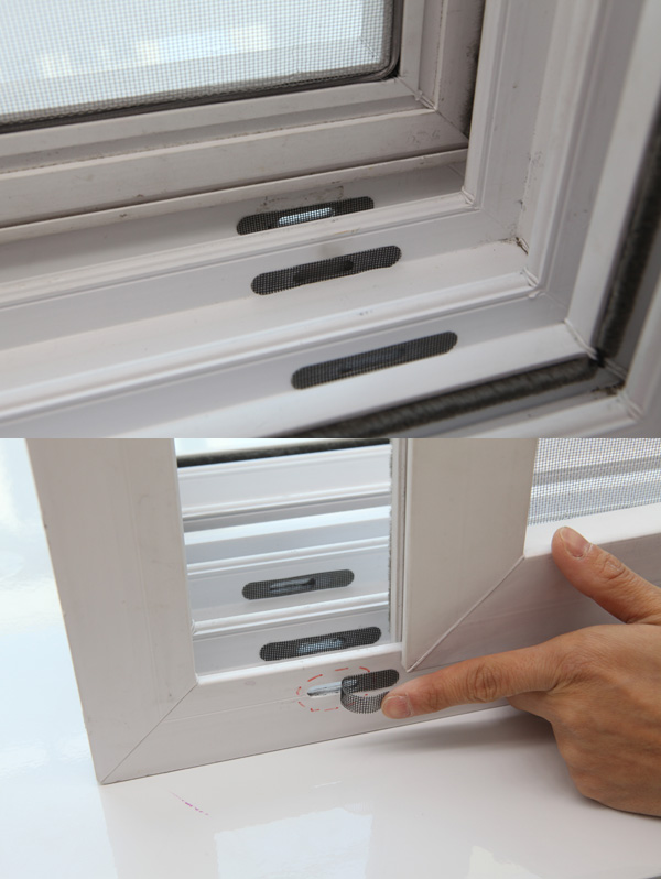 Window Weep Hole Cover Plaster Tradekorea