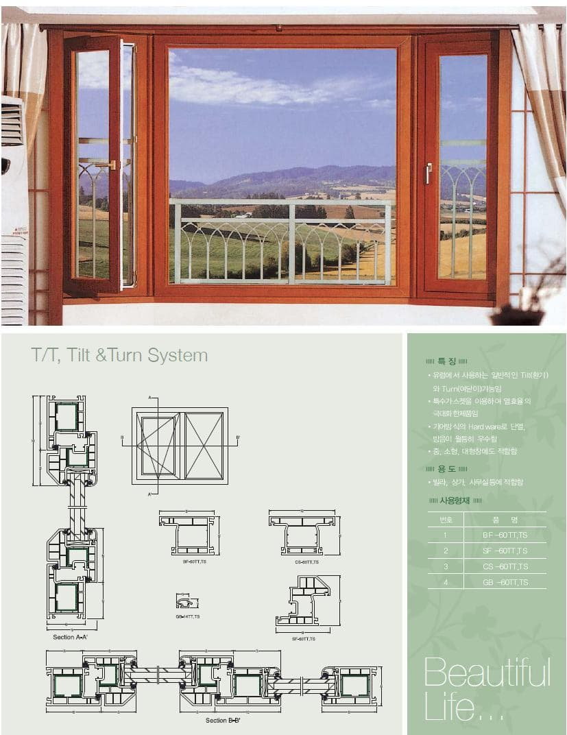 Upvc Windows Detail : Upvc windows hi sash profiles balcony window systems