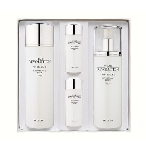 Missha Time Revolution White Cure NW 2 Kinds of Set