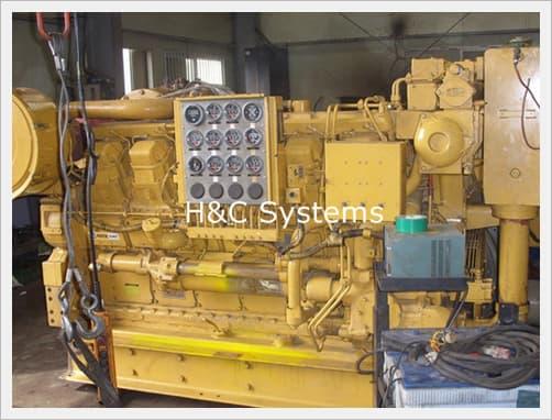 Used Generator CAT 1000KW (Diesel)