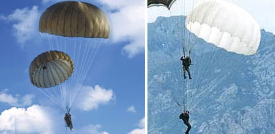 Product Thumnail Image Product Thumnail Image Zoom & T-10R troop reserve parachute from KNP Parachute B2B marketplace ...