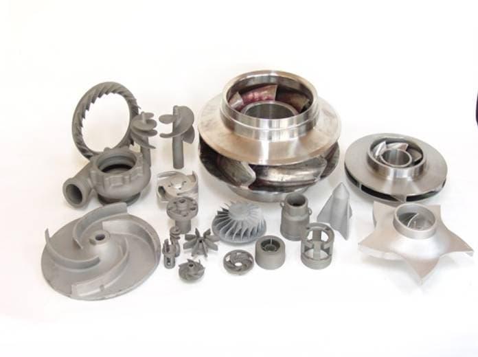 turbin, pump parts, investment casting, lost wax process, steel