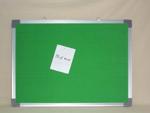 Memo Board with Aluminium Frame from China Chang\'an Richforest Cork ...