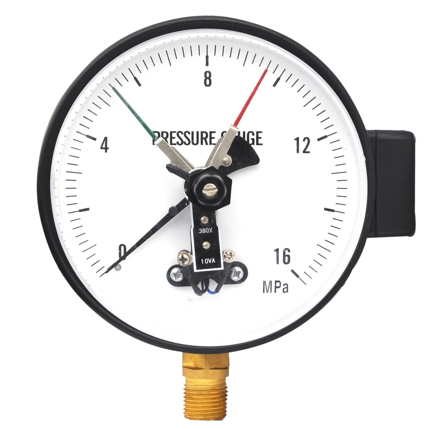 Pressure Measuring Instruments : Electrical contact gauge from exact instrument co ltd b