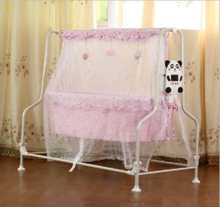 Electric Baby Intelligent Swing Bed Tradekorea