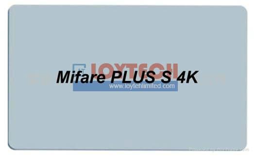 RFID Mifare PLUS S 4K White PVC Cards | tradekorea