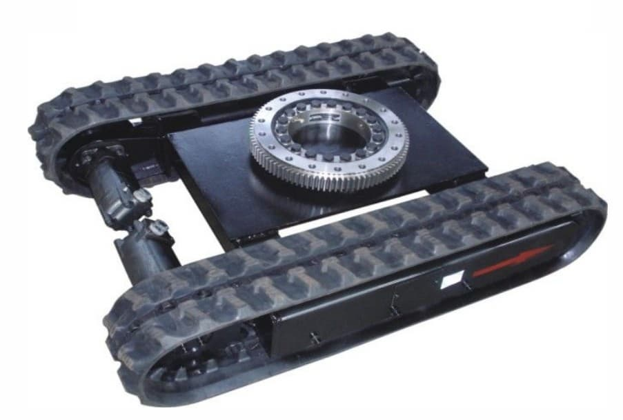 Rubber Crawler Tracks With Slewing Ring Tradekorea