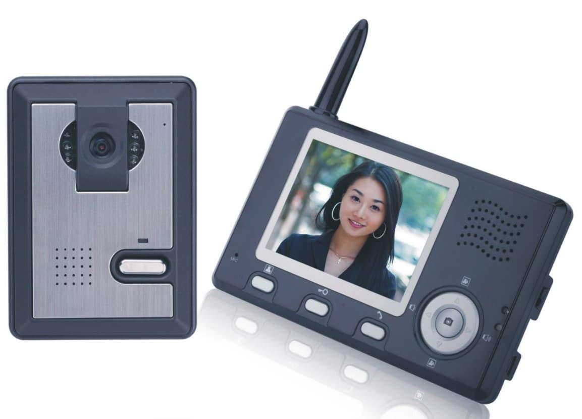 Wireless Video Door Phone 2 4g Digital Video Door Bell