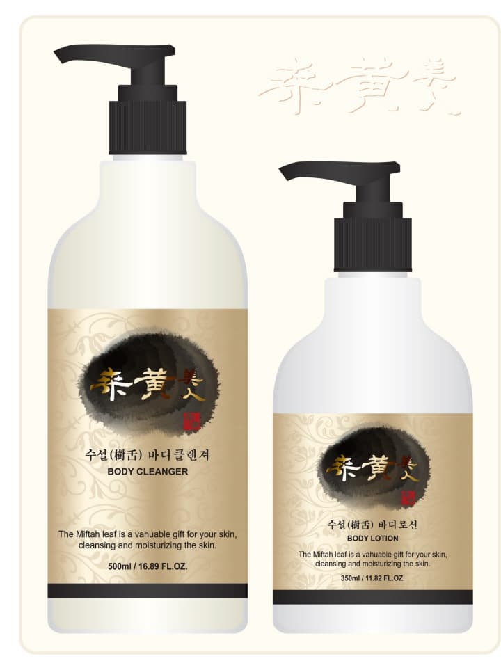 Soosul aging picking body <strong>cleanser</strong> and lotion