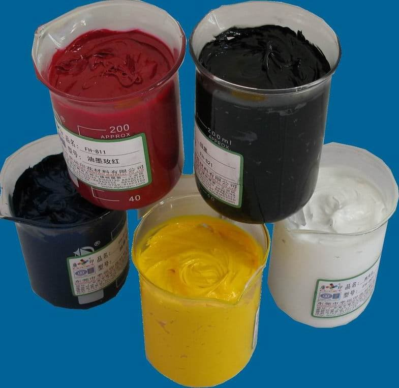 Ec-friendly screen printing ink from Dongguan City Lucky