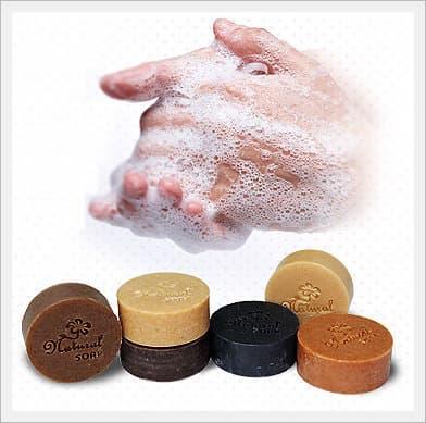 Handmade Natural Herbal Medicine Soaps