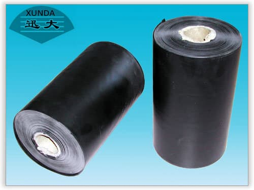 Polyethylene tapes for gas pipe