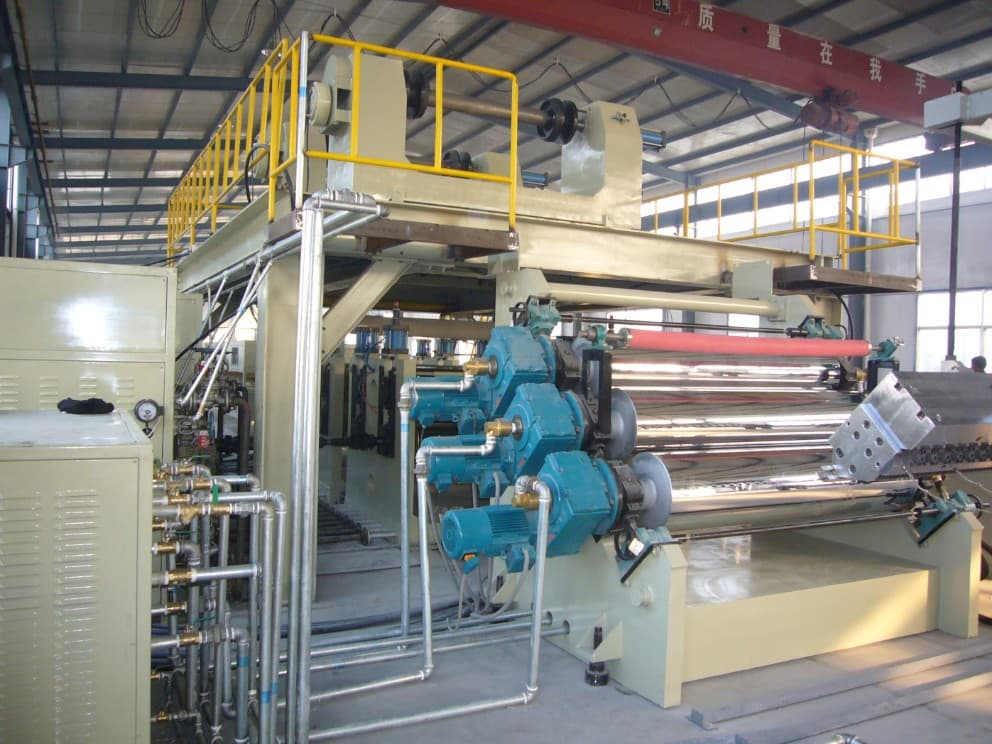 aluminum composite panel (ACP) production line (ACP-2000) | tradekorea