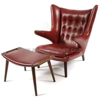 Hans wegner papa bear chair modern classic furniture from for Danish modern reproduction