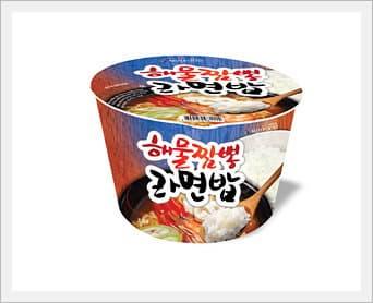 Instant Rice with Ramen & Hot Seasoning.
