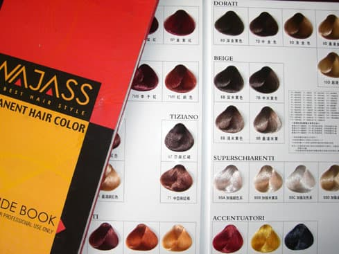 product detail image - Hair Color Book