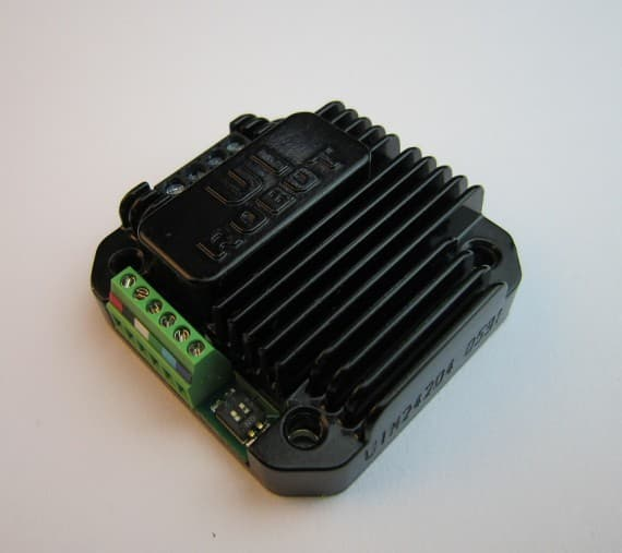 Programmable Stepper Motor Motion Controller With Rs232