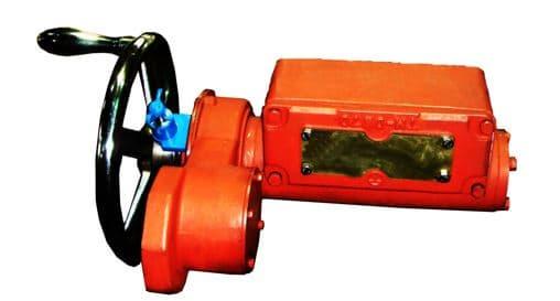 Dual Worm Gear Box