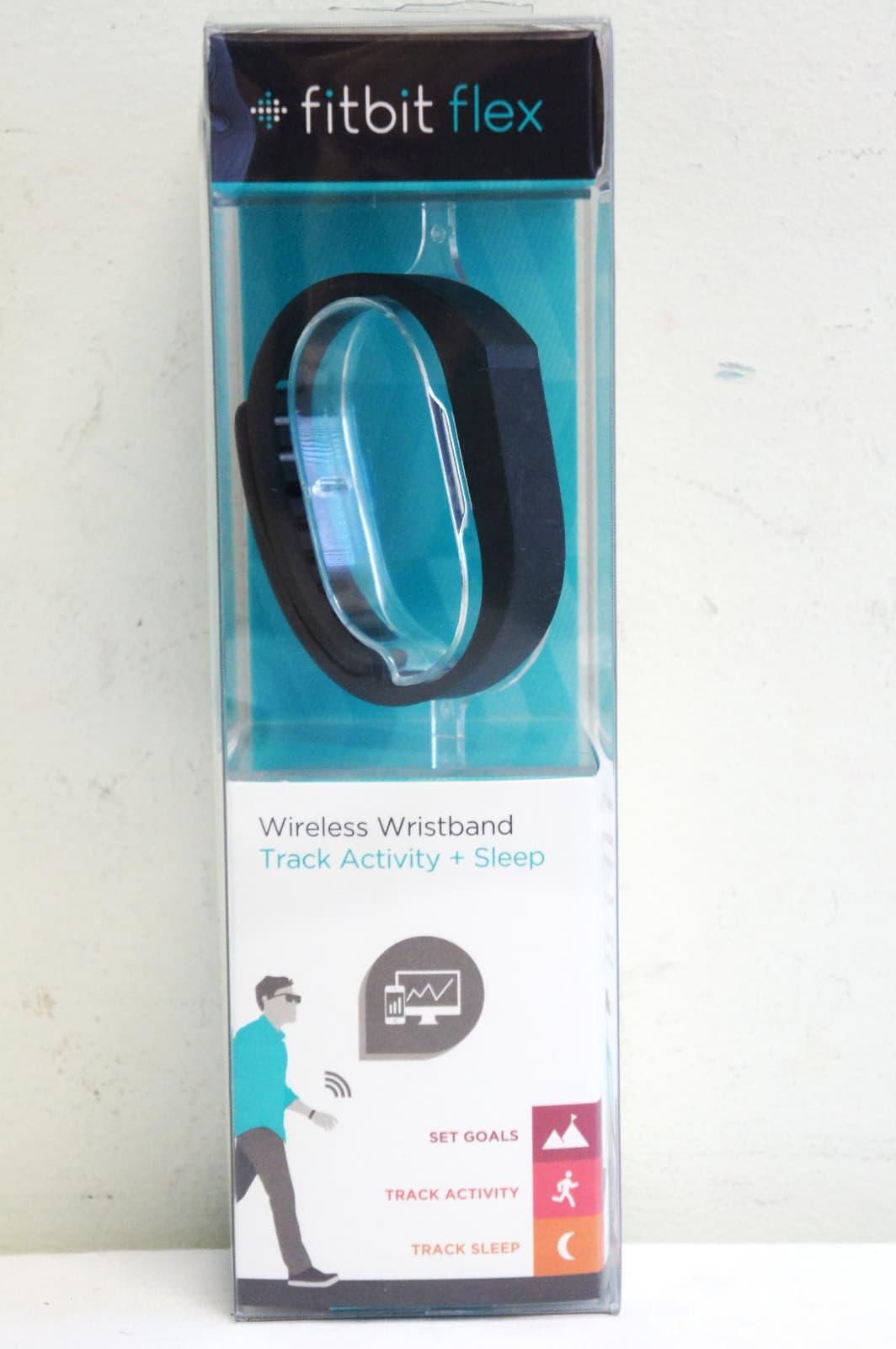 Fitbit Flex Wireless Wristband Track+ Sleep -Black from ...