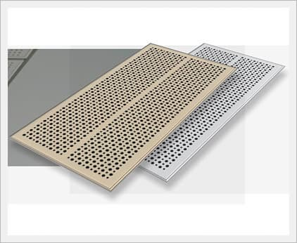 Perforated Sound Absorption Mgo Board / <strong>Soundproof</strong> Material