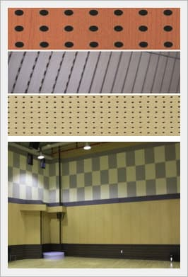 nc Acoustic -Perforated MDF <strong>Soundproof</strong> Acoustic Panel