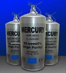 99.999% PURITY SILVER <strong>LIQUID</strong> METALLIC <strong>MERCURY</strong> FOR SALE