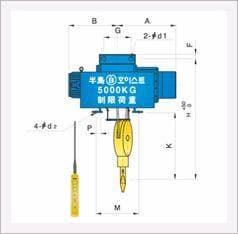 Mono Rail Type Hoist