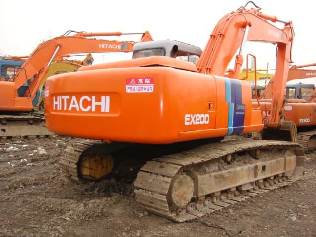 used Hitachi excavators EX200-1/-2/-3 | tradekorea