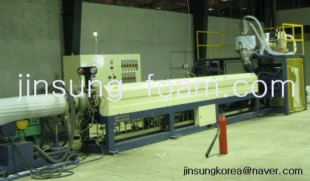 PE Foam Sheet Extrusion Line JINSUNG