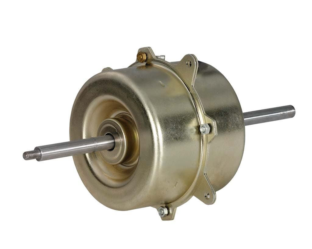 Air conditioner motor long shaft low noise from shaoxing for Dc motor air conditioner