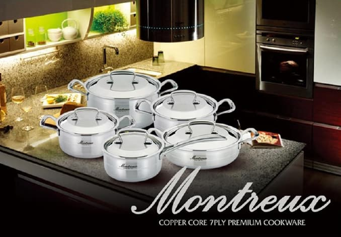 Montreux - COPPER CORE 7PLY PREMIUM COOKWARE